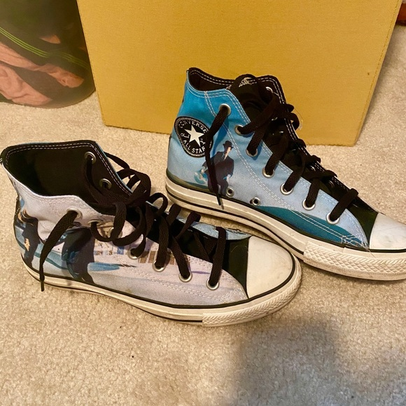 Converse Shoes | Retro Pink Floyd